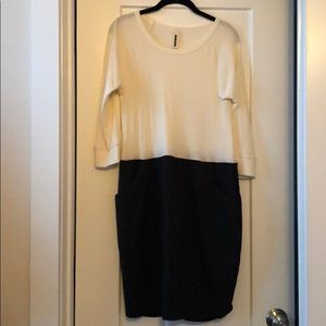 NWOT Anthropologie Ribbed Shift Dress, sz M